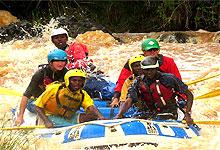 2 Days 1 Night White Water Rafting Tana River Trip Safari from Nairobi