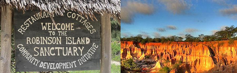 Malindi Full Day Tour Robinson Island Marafa Hells Kitchen