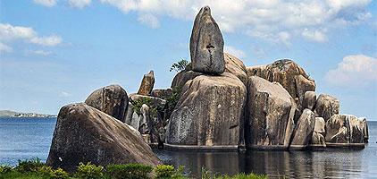 Bismarck Rock in Mwanza, Tanzania City Tour