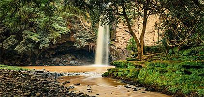 Makalia waterfall Lake Nakuru National Park