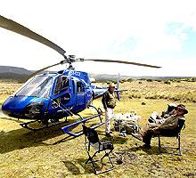 2 Hours Mount Kenya Helicopter Scenic Flight from Mount Kenya Region/ Nanyuki
