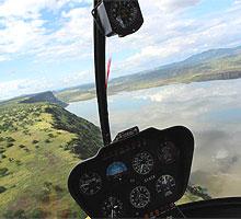 1 Day Nairobi Helicopter Scenic Flight Safari