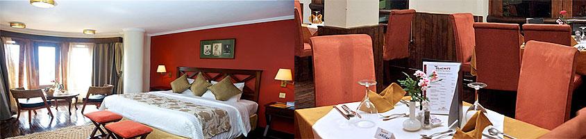 Nyeri Aberdare Hotels Treetops Kenya