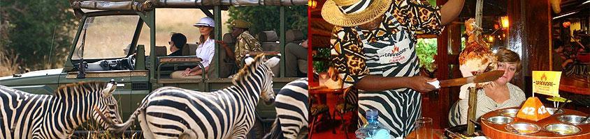 Nairobi National Park Carnivore Bomas Kenya Tour