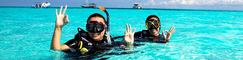 Zanzibar Scuba Diving Snorkeling Day Tour
