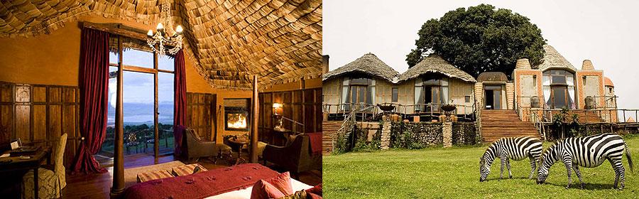 Ngorongoro Crater Safari Lodges Camps Accommodation Tanzania