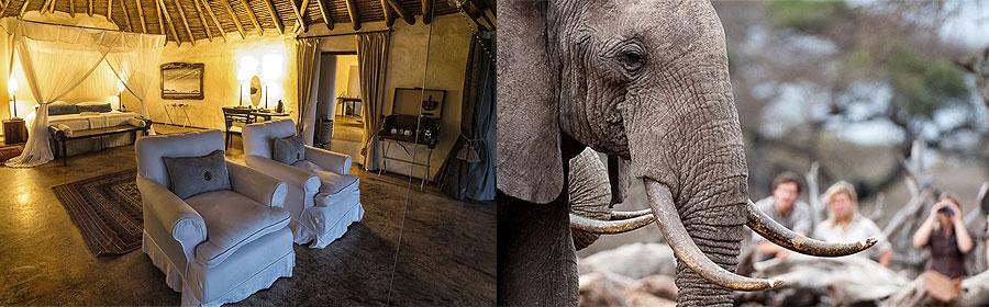 4 Days 3 Nights Ol Donyo Lodge Fly-in Safari